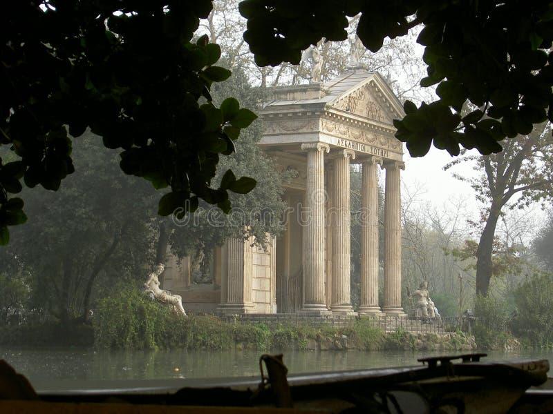 park borghia Rzymu obrazy royalty free