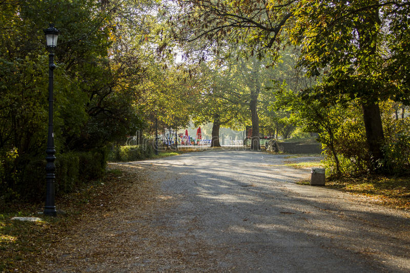 Park Borisova Gradina royalty free stock photos