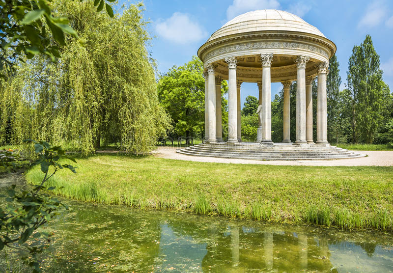 Park Bower. In the park bower on a summer day royalty free stock images