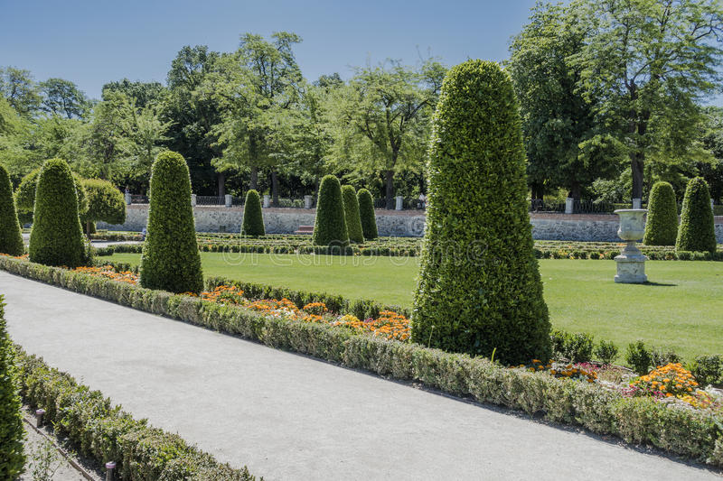 Park Buen-Retiro, Madrid royalty free stock photography