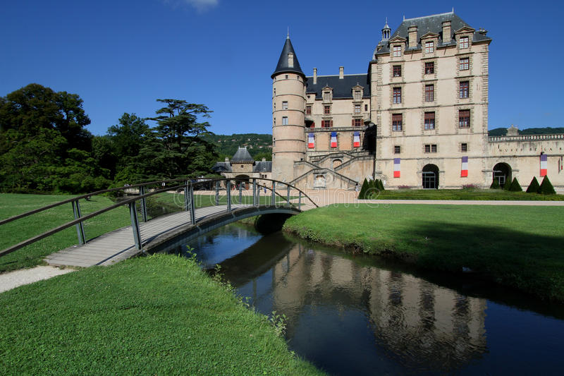 Chateau de Vizille, near Grenoble, France   Chateau, Visit