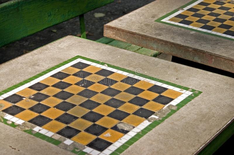 Download Park chess table stock photo. Image of table, play, orange - 319306