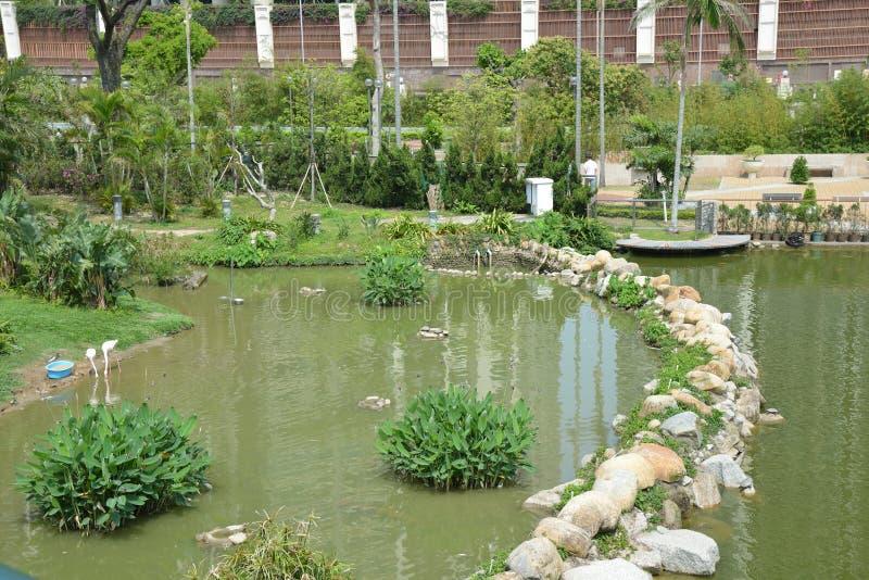 Park in China Macao royalty-vrije stock afbeeldingen