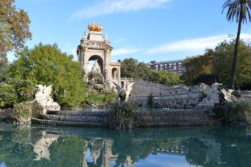Park Citadel - Barcelona Spain stock images