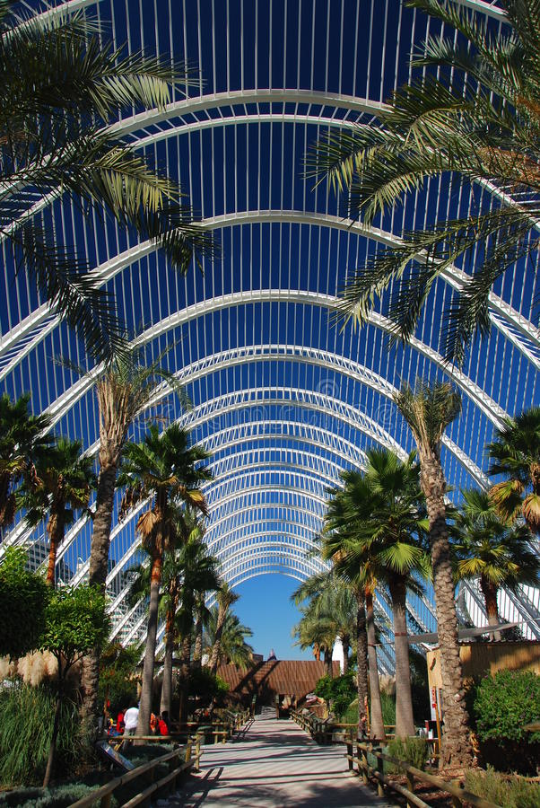 Park in the City of Arts and Sciences