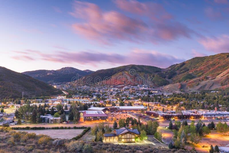 Park City, Utah, Förenta staterna arkivfoto