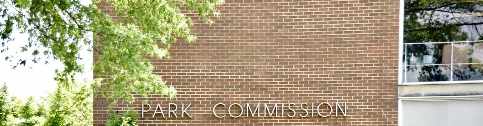 Park Commission. The Park commission is responsible for preserving and protecting historic, architectural and cultural landmarks in the City stock photo