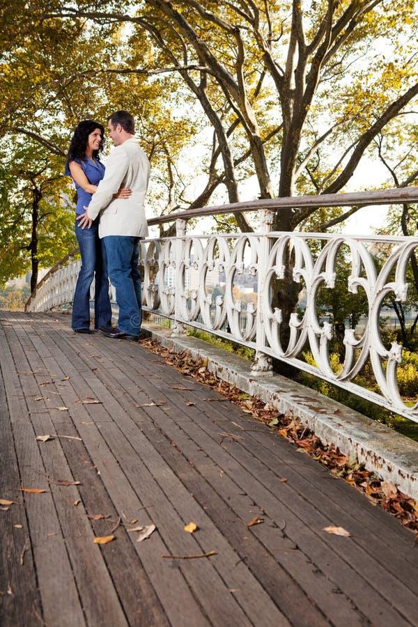 Park Couple Love stock photo
