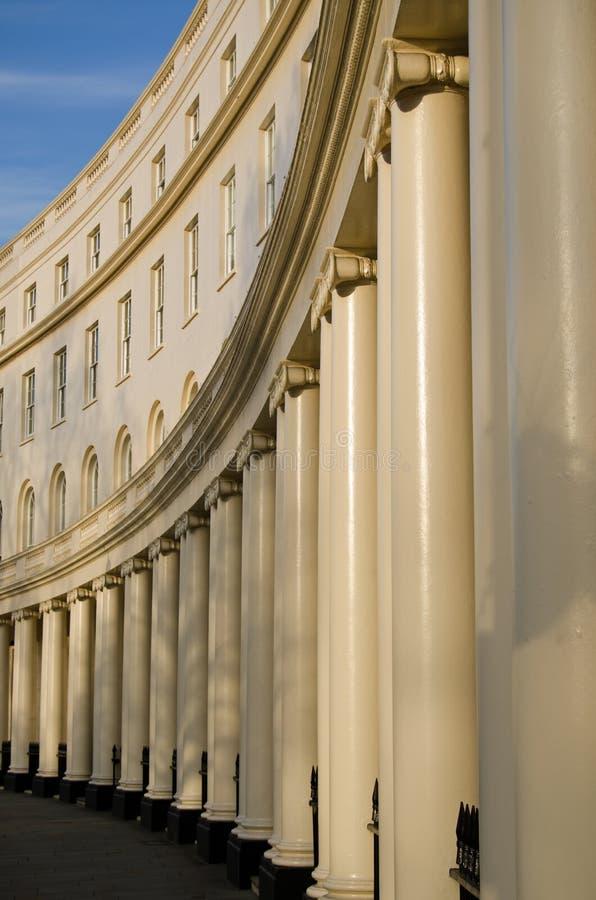 Download Park Crescent, Marylebone stock image. Image of cream - 34454277
