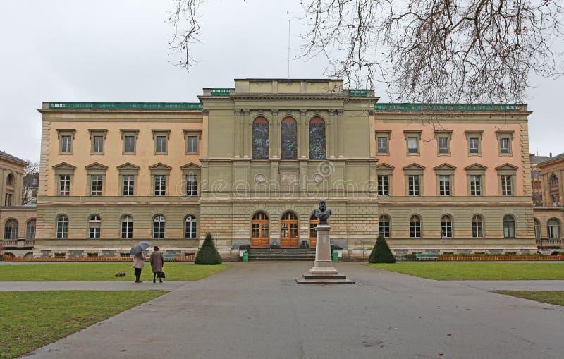 Park de Bastions in Geneva, Switzerland royalty free stock image