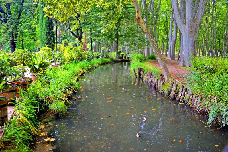 Download Park De La Devesa In Girona, Spain Stock Photo - Image: 83715898