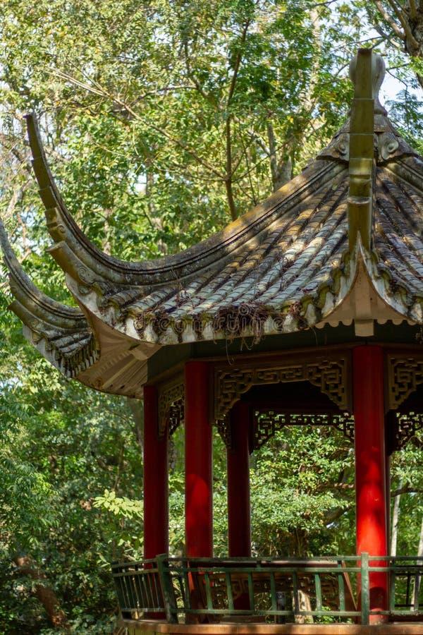 Park der panamaischen chinesischen Freundschaft stockfoto