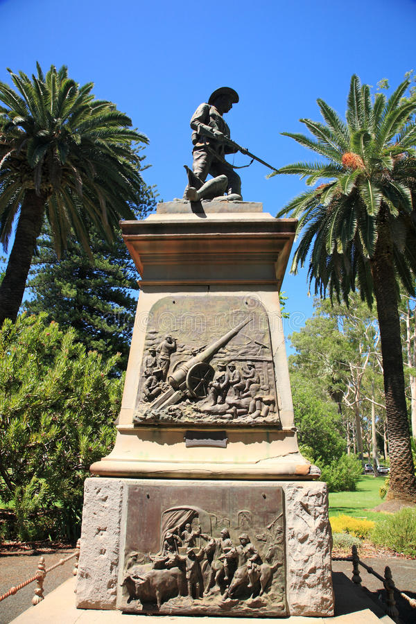 Park des Königs, Perth stockfotografie