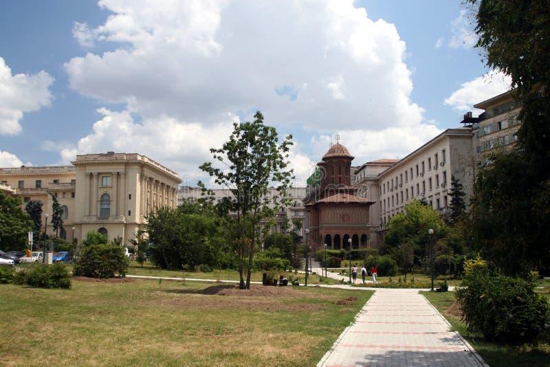 Park dichtbij het Plein van de Revolutie stock foto