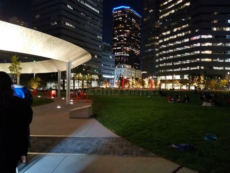 Park in Downtown Dallas, Texas stock photos