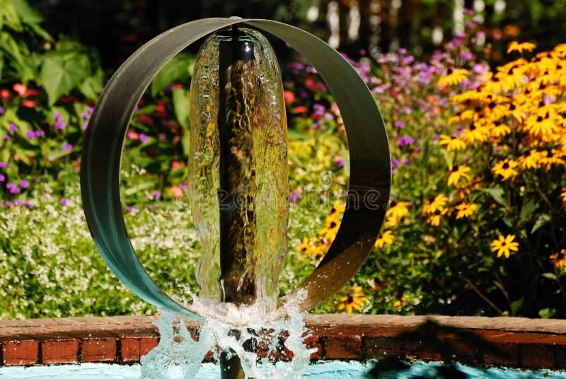 park fontanna wody obraz stock