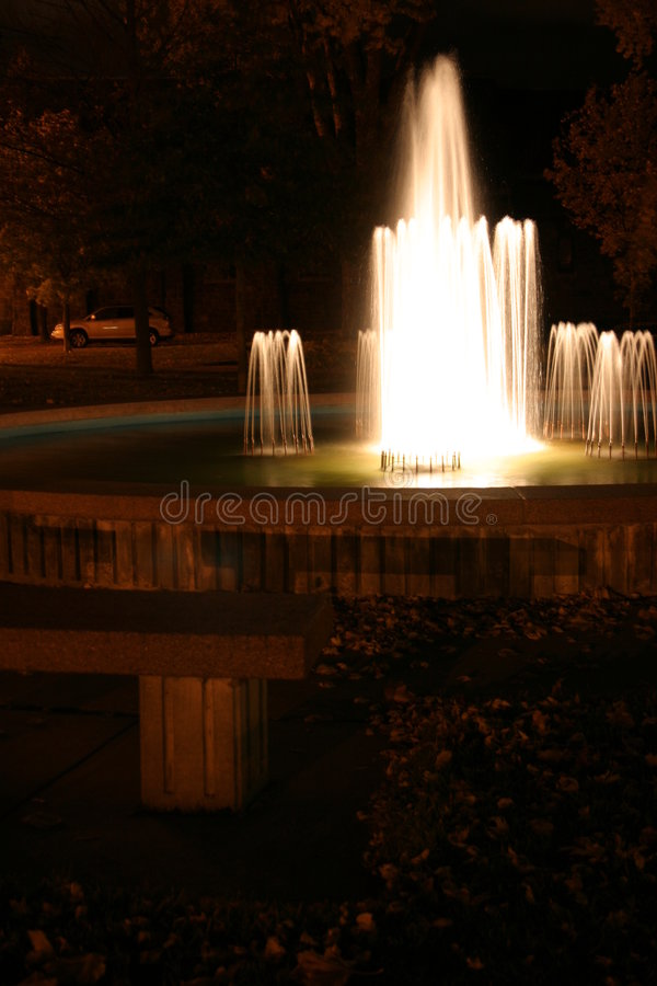 Download Park Fountain stock photo. Image of pool, fountain, bench - 31894