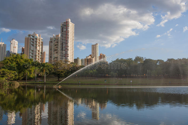 Park in Goiania. A park in Goiania, Brazil royalty free stock images