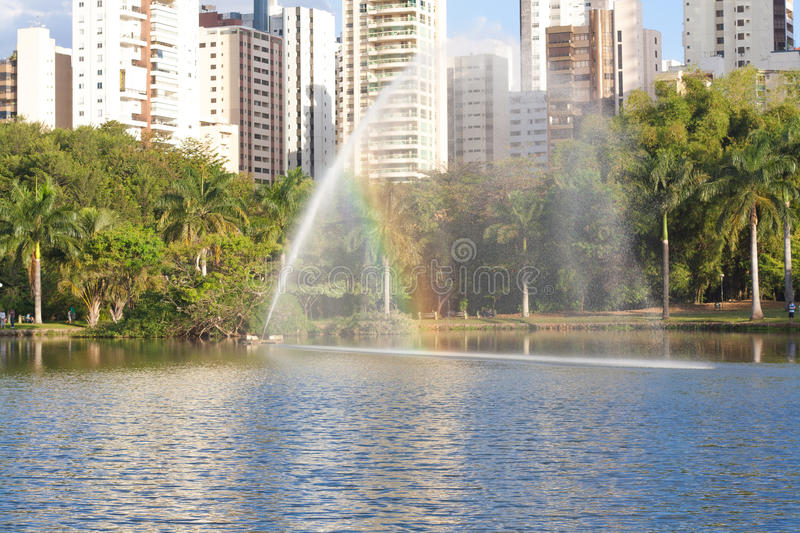 Park in Goiania. A park in Goiania, Brazil royalty free stock image