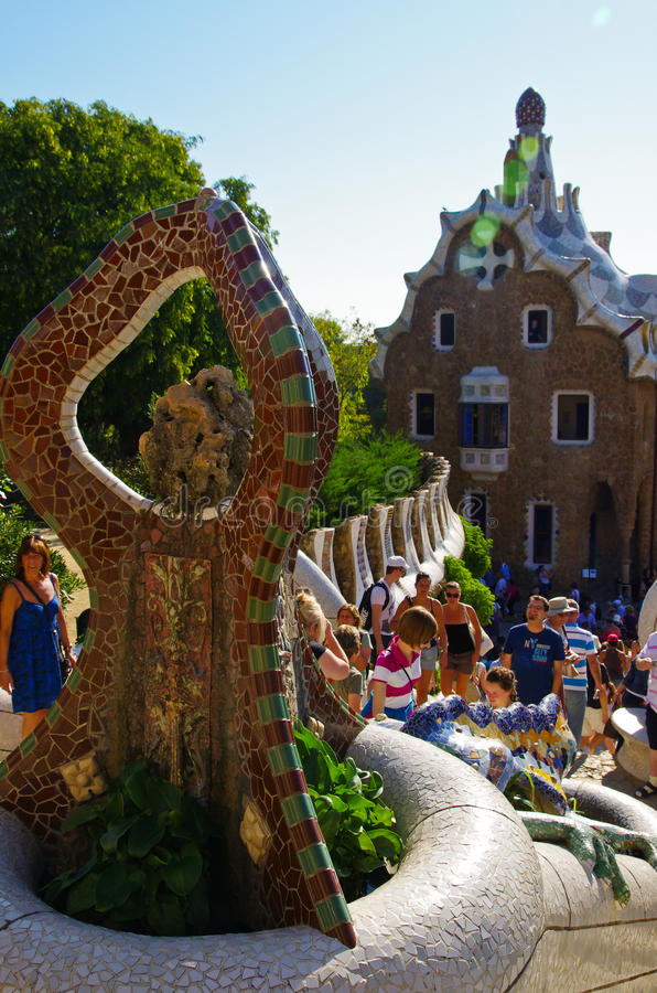 Download Park Guell Editorial Stock Photo - Image: 21813133