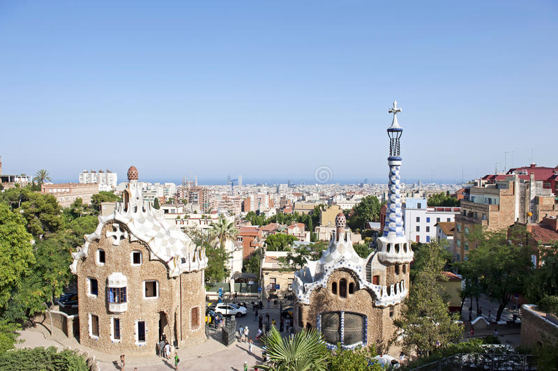 Download Park Guell editorial photo. Image of barcelona, architect - 22459196