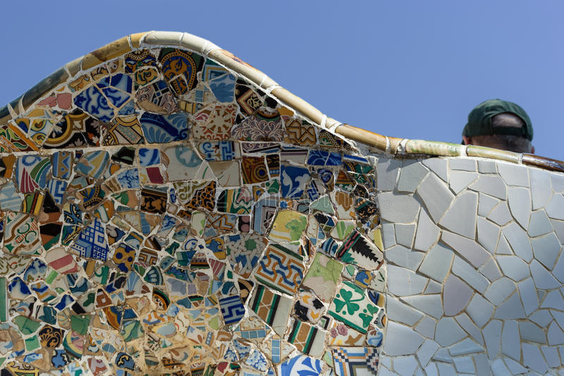 Download Park Guell stock photo. Image of architecture, catalunia - 27855902