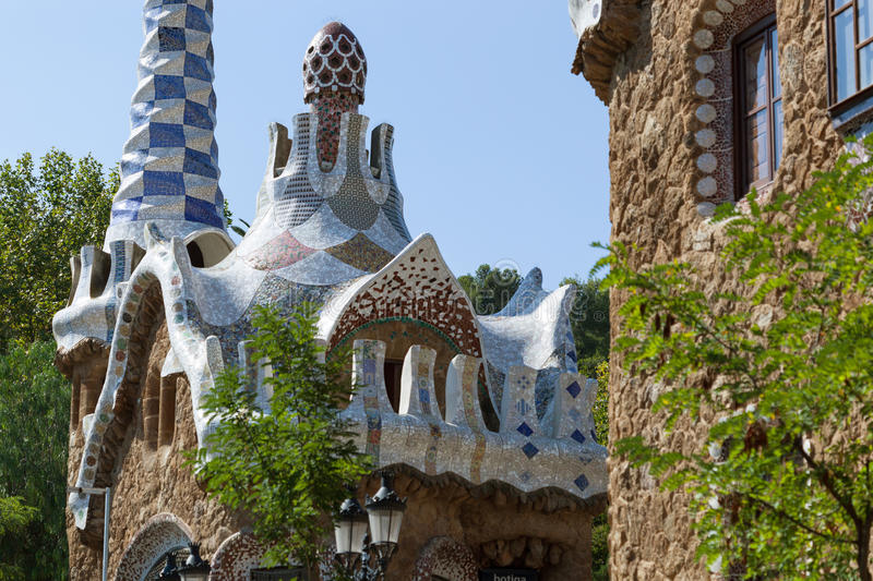 Download Park Guell stock image. Image of fantasy, geometry, mosaic - 27855949
