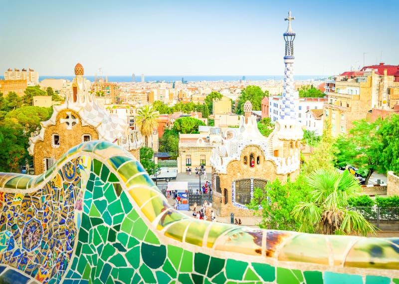 Park Guell, Barcelona stock fotografie