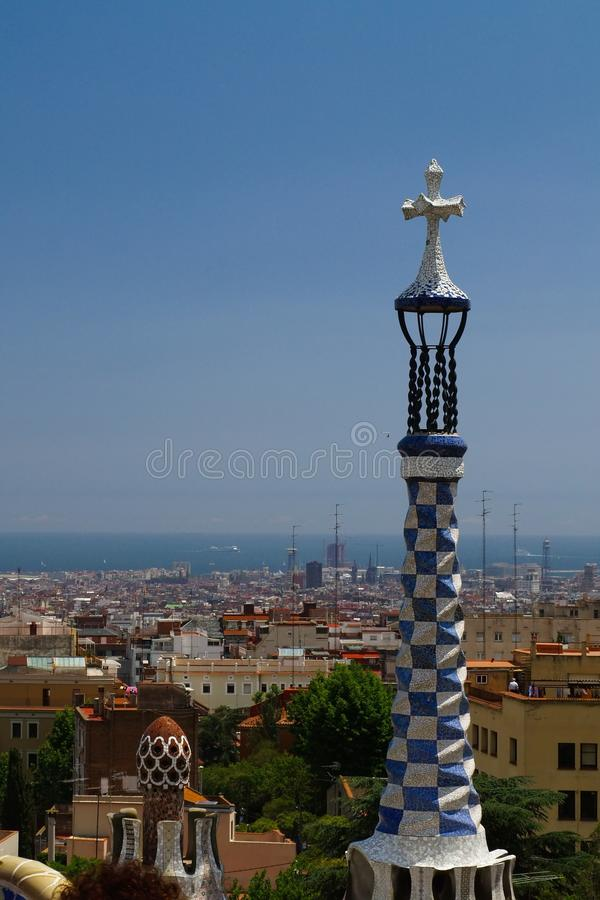 Park Guell In Barcelona Royalty Free Stock Photos