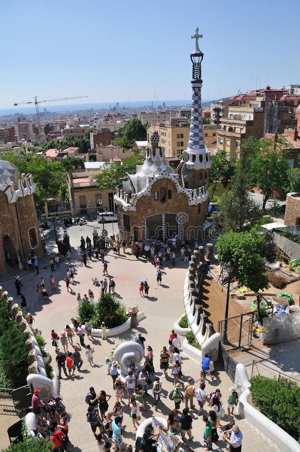 Park Guell, Barcelona Editorial Photo