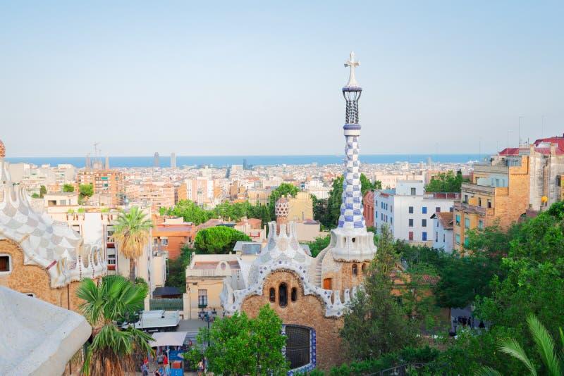 Park Guell, Barcelona royalty-vrije stock fotografie