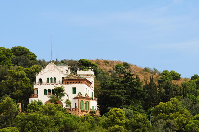 Download Park Guell In Barcelona, Spain Stock Photo - Image: 13659254