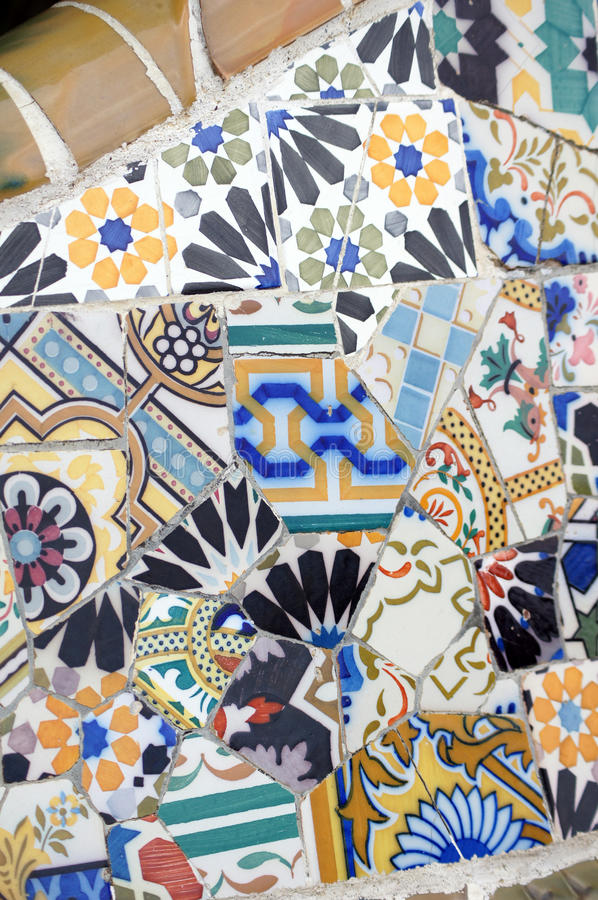 Download Park Guell In Barcelona, Spain Stock Image - Image: 20145117