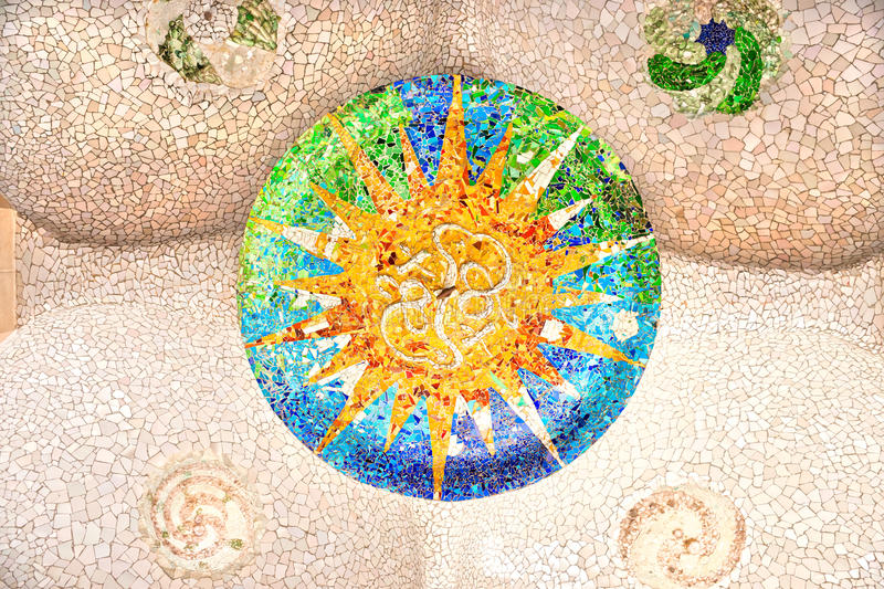 Download Park Guell, Barcelona, Spain. Stock Photo - Image: 22697662