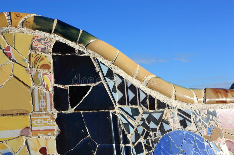 Download Park Guell In Barcelona, Spain. Royalty Free Stock Photography - Image: 28749907