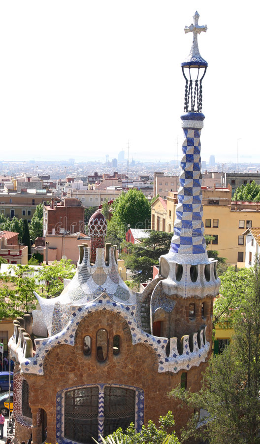 Park Guell, Barcelona, Spain Royalty Free Stock Photography