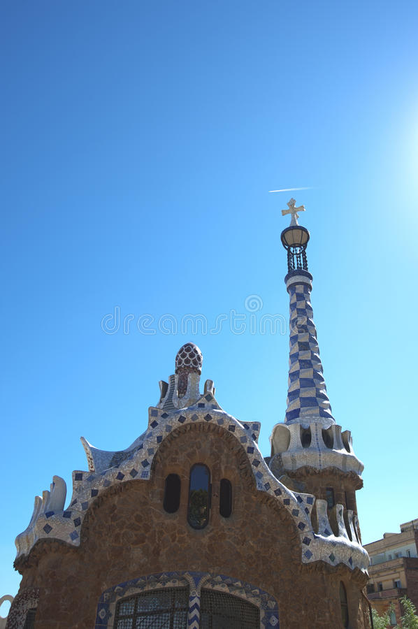 Park Guell detail, Barcelona, Spain