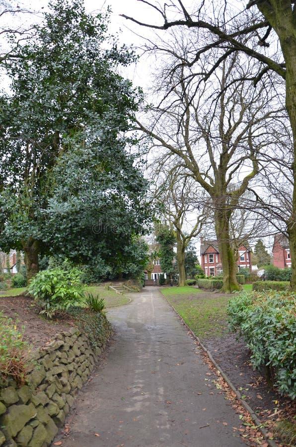 Park Heaton w Heaton Moor zdjęcie royalty free