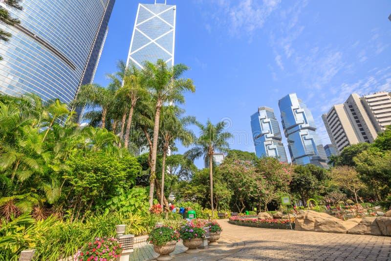 park hong kongu obrazy royalty free
