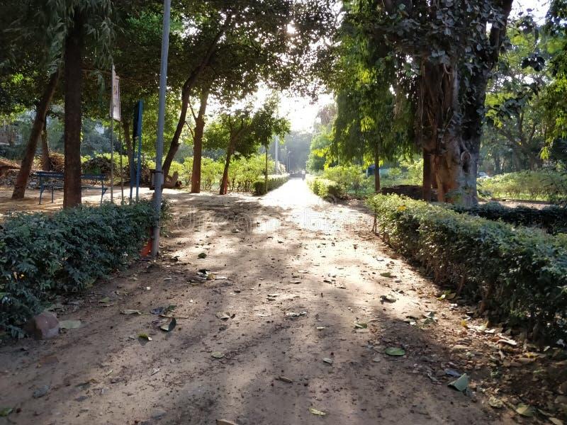 Park in India royalty-vrije stock afbeelding