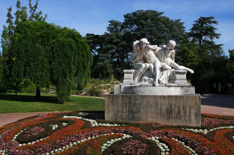 Download Park in Lyon stock image. Image of park, nature, tourism - 25817355