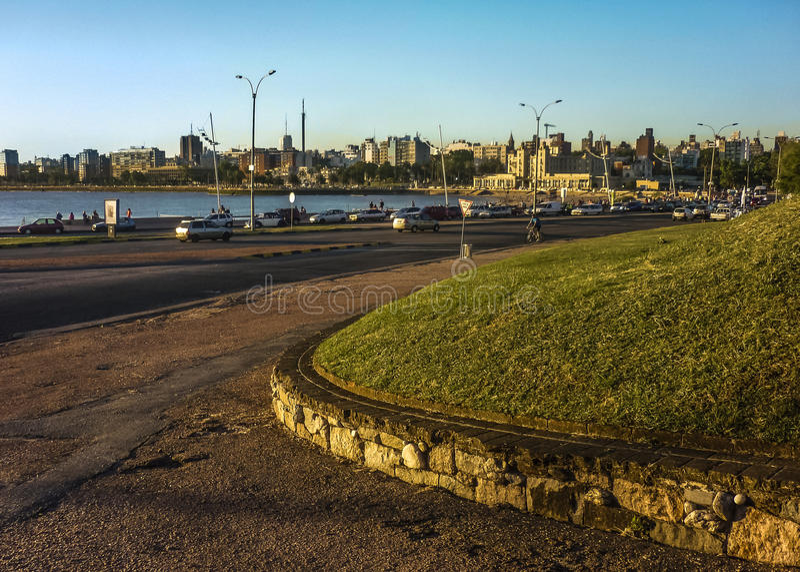Park Montevideos Parque Rodo stockfotos
