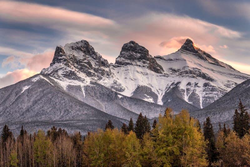 Park Narodowy Banff fotografia stock