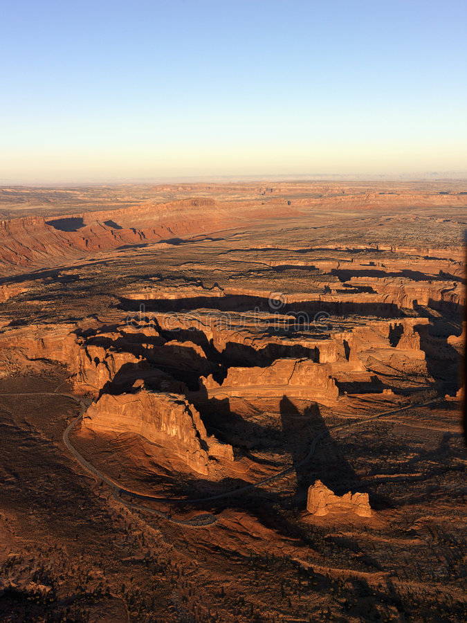 park narodowy canyonlands Utah fotografia stock