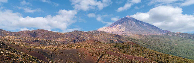 Park Narodowy góra Teide w Tenerife zdjęcie stock