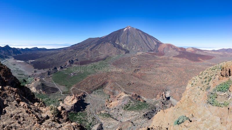 Park Narodowy Las Canadas Del Teide w Tenerife zdjęcia royalty free