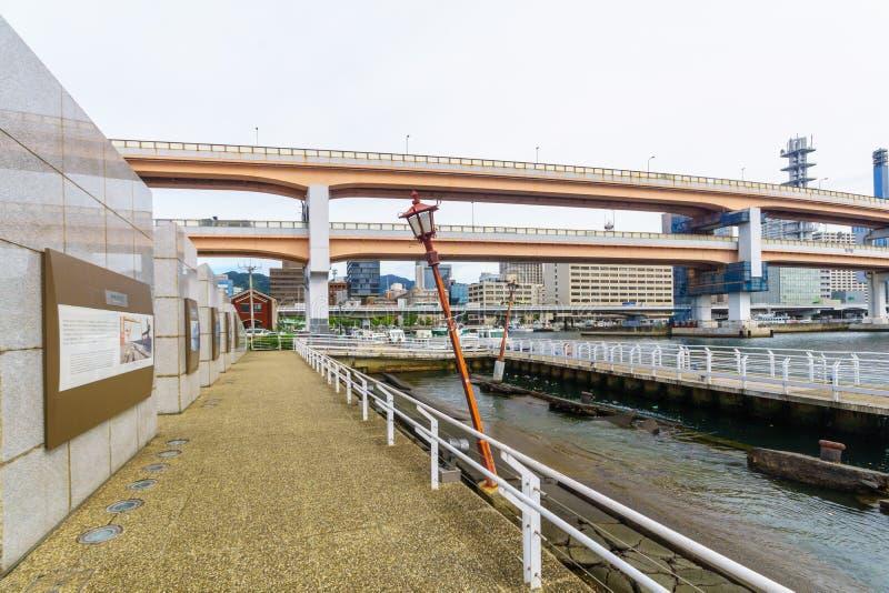 Park Narodowy Port of Kobe Earthquake obrazy royalty free