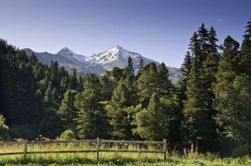 park narodowy vanoise obrazy stock