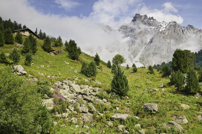 park narodowy vanoise zdjęcia stock