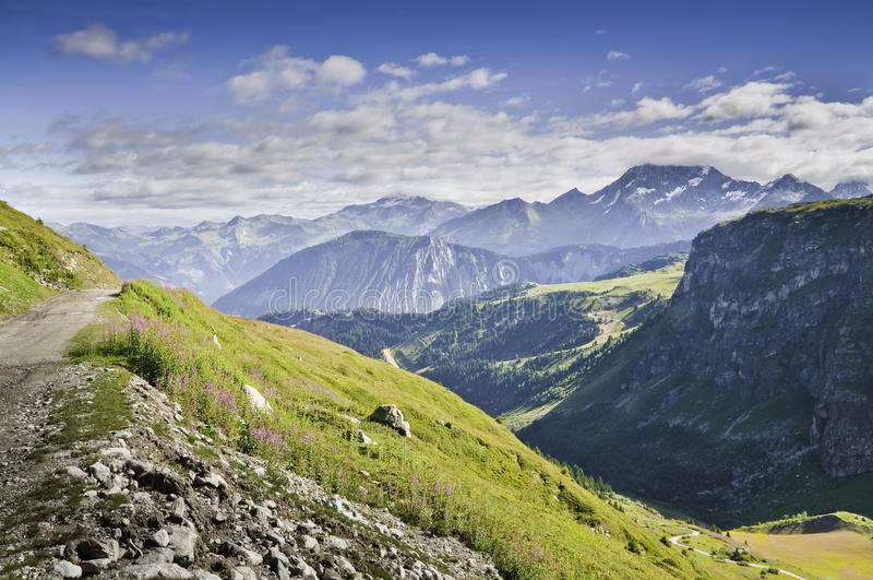 park narodowy vanoise obraz stock